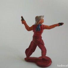 Figuras de Goma y PVC: VAQUERO GAMA. Lote 138759134