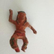 Figuras de Goma y PVC: FIGURA INDIO LAFREDO GOMA. Lote 138761010