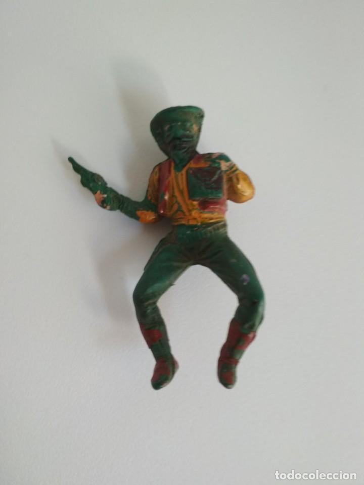 BANDIDO GOMA AÑOS 50 (Juguetes - Figuras de Goma y Pvc - Pech)