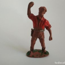 Figuras de Goma y PVC: VAQUERO GOMA LAFREDO. Lote 138772126