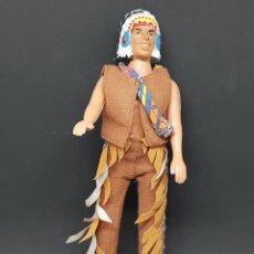 Figuras de Goma y PVC: INDIO - PLASTICO - 22 CM - CAR123. Lote 138789834