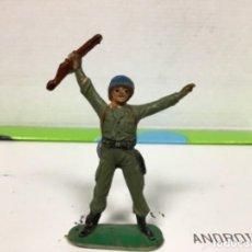 Figuras de Goma y PVC: FIGURA MILITAR JECSAN CASCOS AZULES DE JECSAN AMERICANO JAPONESES SEGUNDA GUERRA MUNDIAL. Lote 138828614