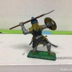 Figuras de Goma y PVC: FIGURA MEDIEVAL ARABE BRITAINS CRUZADO MUSULMAN MADE IN ENGLAND SARRACENO BEN YUSSUF. Lote 138834758