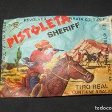 Figuras de Goma y PVC: PISTOLETA SHERIFF,MONTAPLEX,A ESTRENAR. Lote 138837694