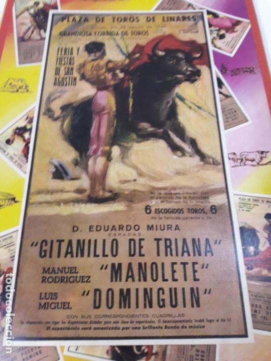 Figuras de Goma y PVC: CAJA ORIGINAL DE TOREROS Y TOROS . REALIZADA POR PECH . AÑOS 60 - Foto 3 - 138840654