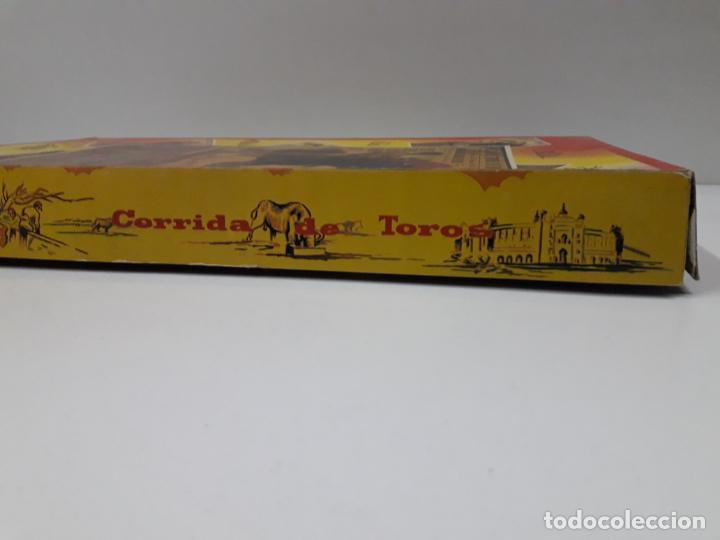 Figuras de Goma y PVC: CAJA ORIGINAL DE TOREROS Y TOROS . REALIZADA POR PECH . AÑOS 60 - Foto 7 - 138840654