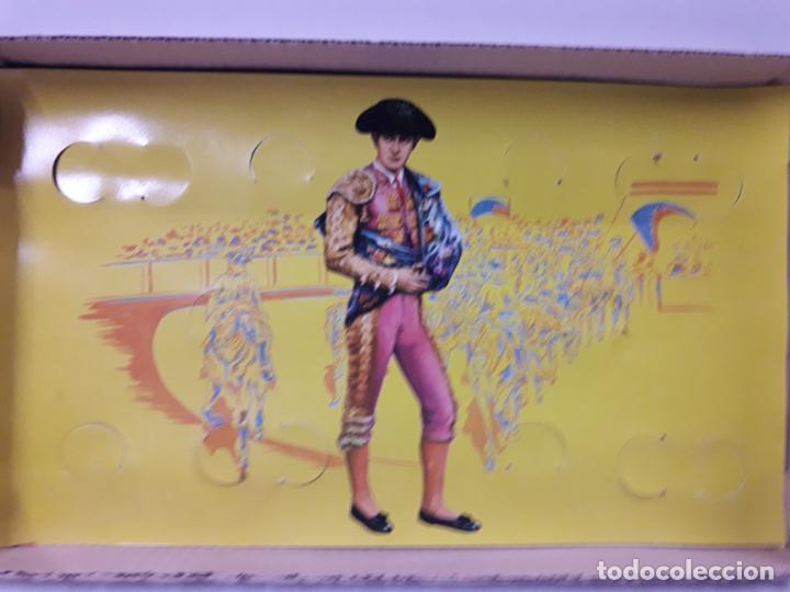Figuras de Goma y PVC: CAJA ORIGINAL DE TOREROS Y TOROS . REALIZADA POR PECH . AÑOS 60 - Foto 24 - 138840654