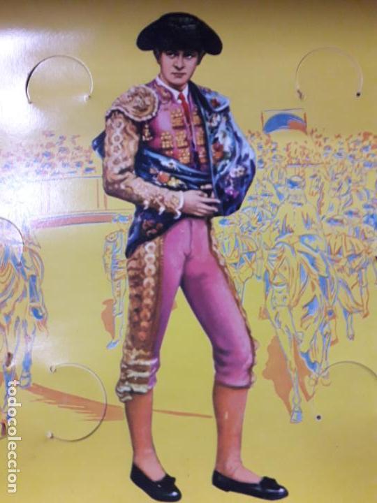Figuras de Goma y PVC: CAJA ORIGINAL DE TOREROS Y TOROS . REALIZADA POR PECH . AÑOS 60 - Foto 25 - 138840654