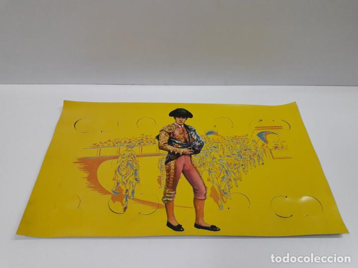 Figuras de Goma y PVC: CAJA ORIGINAL DE TOREROS Y TOROS . REALIZADA POR PECH . AÑOS 60 - Foto 27 - 138840654