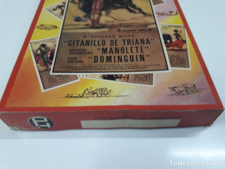 Figuras de Goma y PVC: CAJA ORIGINAL DE LA CORRIDA DE TOROS . REALIZADA POR PECH . AÑOS 60 - Foto 4 - 138841578