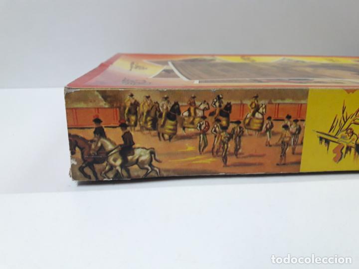 Figuras de Goma y PVC: CAJA ORIGINAL DE LA CORRIDA DE TOROS . REALIZADA POR PECH . AÑOS 60 - Foto 6 - 138841578