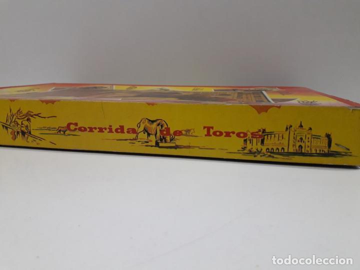 Figuras de Goma y PVC: CAJA ORIGINAL DE LA CORRIDA DE TOROS . REALIZADA POR PECH . AÑOS 60 - Foto 7 - 138841578