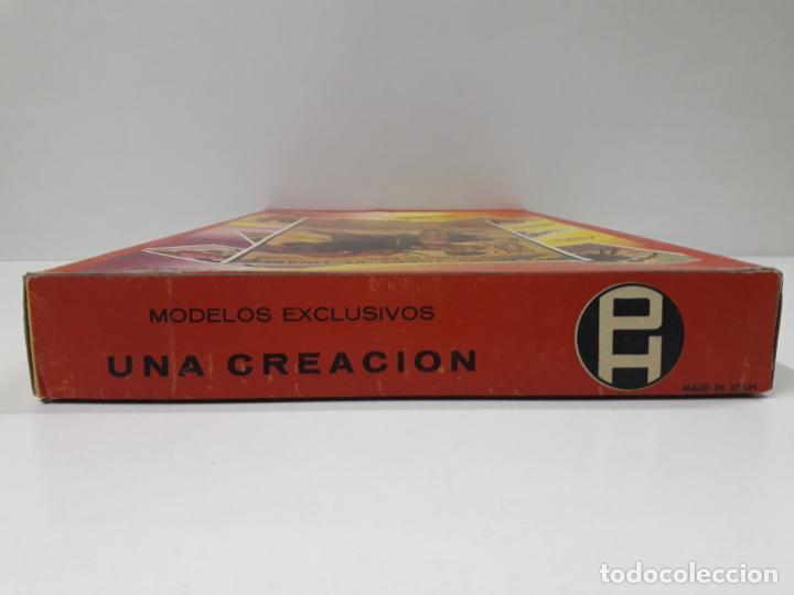 Figuras de Goma y PVC: CAJA ORIGINAL DE LA CORRIDA DE TOROS . REALIZADA POR PECH . AÑOS 60 - Foto 8 - 138841578
