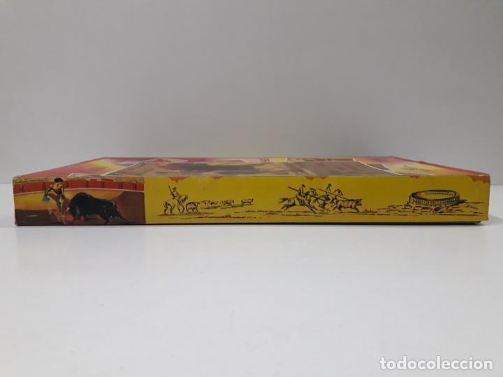 Figuras de Goma y PVC: CAJA ORIGINAL DE LA CORRIDA DE TOROS . REALIZADA POR PECH . AÑOS 60 - Foto 10 - 138841578
