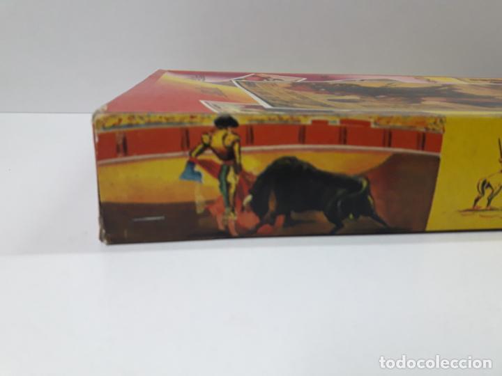 Figuras de Goma y PVC: CAJA ORIGINAL DE LA CORRIDA DE TOROS . REALIZADA POR PECH . AÑOS 60 - Foto 11 - 138841578