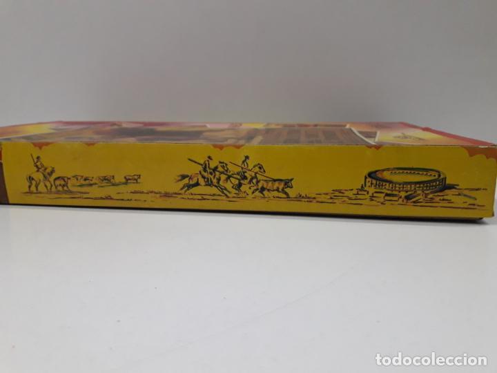 Figuras de Goma y PVC: CAJA ORIGINAL DE LA CORRIDA DE TOROS . REALIZADA POR PECH . AÑOS 60 - Foto 12 - 138841578