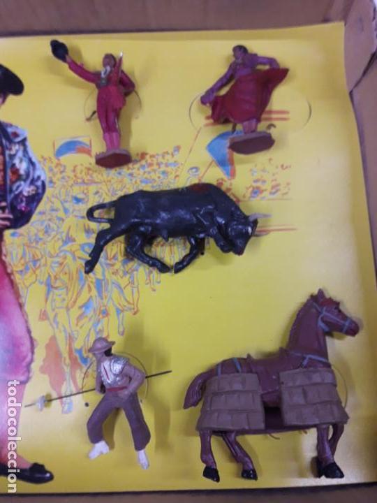 Figuras de Goma y PVC: CAJA ORIGINAL DE LA CORRIDA DE TOROS . REALIZADA POR PECH . AÑOS 60 - Foto 16 - 138841578