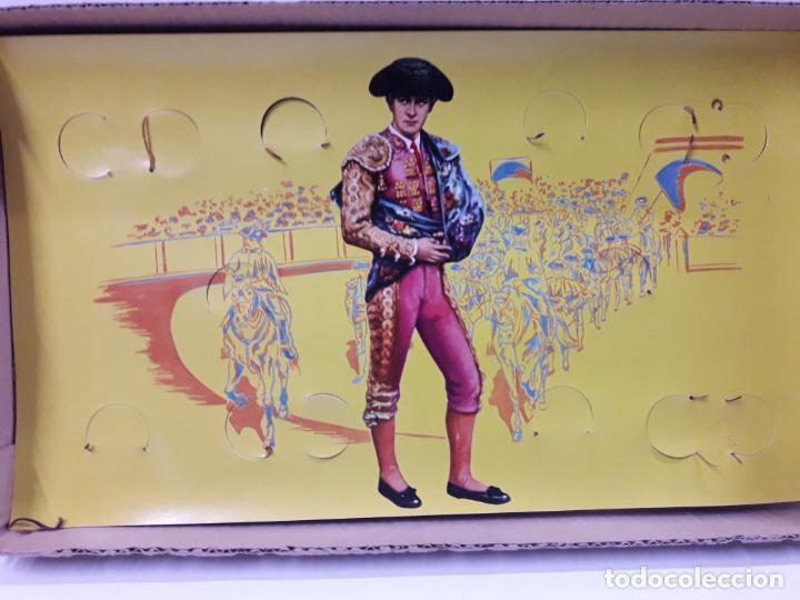 Figuras de Goma y PVC: CAJA ORIGINAL DE LA CORRIDA DE TOROS . REALIZADA POR PECH . AÑOS 60 - Foto 19 - 138841578