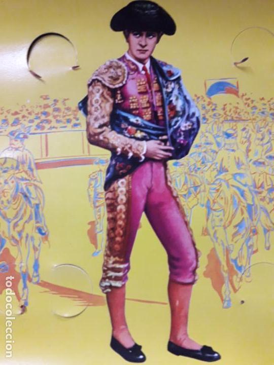 Figuras de Goma y PVC: CAJA ORIGINAL DE LA CORRIDA DE TOROS . REALIZADA POR PECH . AÑOS 60 - Foto 20 - 138841578