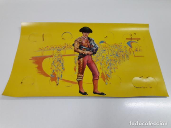 Figuras de Goma y PVC: CAJA ORIGINAL DE LA CORRIDA DE TOROS . REALIZADA POR PECH . AÑOS 60 - Foto 22 - 138841578