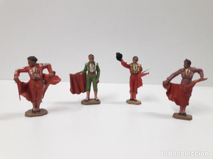 Figuras de Goma y PVC: CAJA ORIGINAL DE LA CORRIDA DE TOROS . REALIZADA POR PECH . AÑOS 60 - Foto 25 - 138841578