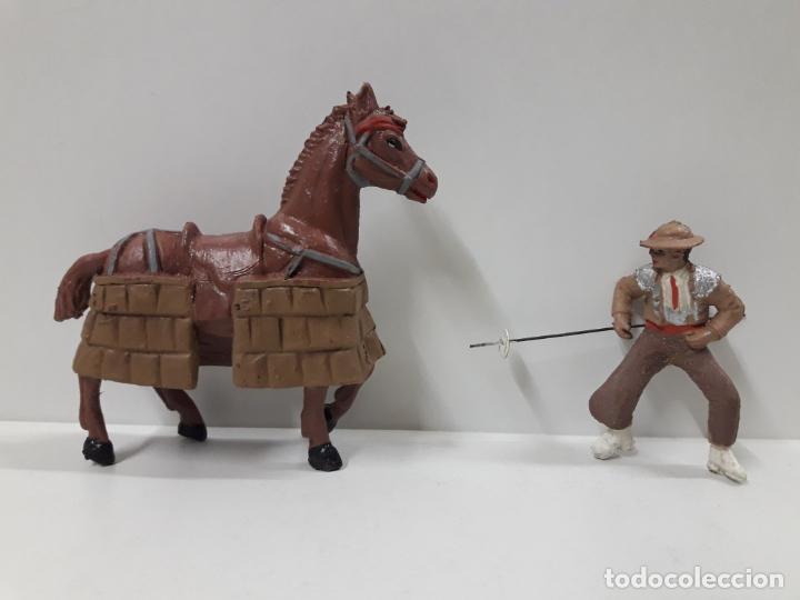 Figuras de Goma y PVC: CAJA ORIGINAL DE LA CORRIDA DE TOROS . REALIZADA POR PECH . AÑOS 60 - Foto 28 - 138841578