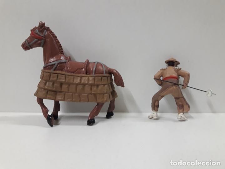 Figuras de Goma y PVC: CAJA ORIGINAL DE LA CORRIDA DE TOROS . REALIZADA POR PECH . AÑOS 60 - Foto 29 - 138841578