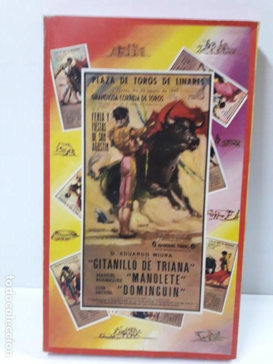 Figuras de Goma y PVC: CAJA ORIGINAL DE LA CORRIDA DE TOROS . REALIZADA POR PECH . AÑOS 60 - Foto 32 - 138841578