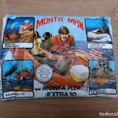 Figuras de Goma y PVC: SOBRE MONTA MAN MONTAPLEX ZODIAC MARINES AMERICANOS SEGUNDA GUERRA MUNDIAL EXTRA 10. Lote 138910510