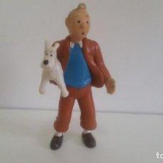 Figuras de Goma y PVC: MUÑECO DE PVC. TINTIN Y MILU DE HERGE 1994 . Lote 138950490
