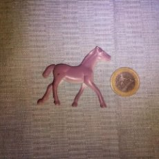 Figuras de Goma y PVC: MINIATURA CABALLO DE GOMA ANIMALES DIORAMA 5X5 CM. Lote 138956202