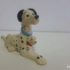 Figuras de Goma y PVC: MUÑECO EN PVC. 101 DALMATAS CON CACHORRO DISNEY. Lote 139002826