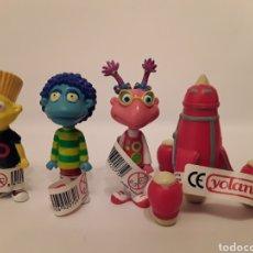 Figuras de Goma y PVC: LOTE 4 FIGURAS LOS LUNNIS COMANSI YOLANDA NUEVAS!!!. Lote 148110574