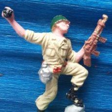 Figuras de Goma y PVC: PECH OLIVER. SOLDADO ESPAÑOL 1 NUNCA JUGADO AÑOS 60-70. . Lote 139030526
