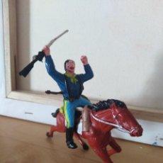 Figuras de Goma y PVC: SOLDADO FEDERAL BATALLA DE LITTLE BIG HORN OESTE. Lote 139031778