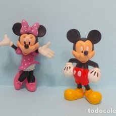 Figuras de Goma y PVC: FIGURAS CLASICOS DISNEY (MICKEY, MINNIE) - DISNEY STORE. Lote 139034974