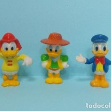 Figuras de Goma y PVC: FIGURAS CLASICOS DISNEY - DONALD JUGUETES. Lote 139035521