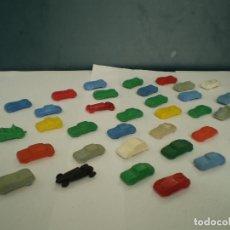 Figuras de Goma y PVC: LOTE COCHES PULGA MONTAPLEX. Lote 139054278