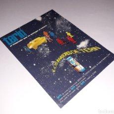 Figuras de Goma y PVC: INTERESANTE PUBLICIDAD FOLLETO LOS INVASORES DE TERÍN, SPACE, TIPO JECSAN, ORIGINAL AÑOS 60.. Lote 139124010