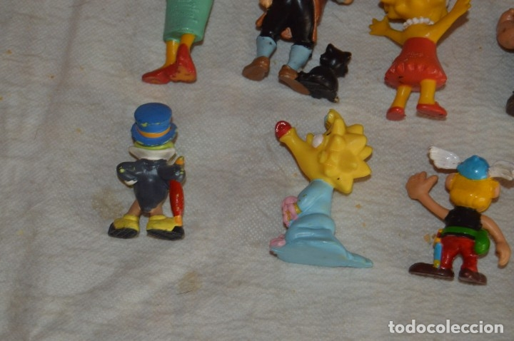 Figuras de Goma y PVC: Vintage - LOTE DE 11 FIGURAS DE PLÁSTICO / PVC - BULLY / COMIC SPAIN / OTROS ... - ENVÍO 24H - L01 - Foto 10 - 139181186