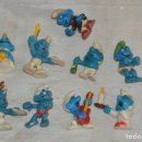 Figuras de Goma y PVC: VINTAGE - LOTE DE 9 FIGURAS DE PLÁSTICO / PVC PITUFOS - SCHLEICH PEYO Y OTROS - ENVÍO 24H - L04. Lote 139182310