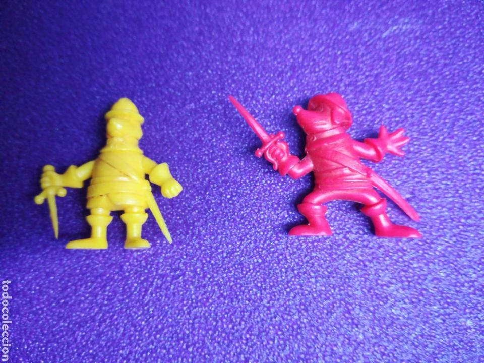 FIGURAS D'ARTAGNAN TIPO DUNKIN PHOSKITOS PVC LOTE (Juguetes - Figuras de Goma y Pvc - Otras)