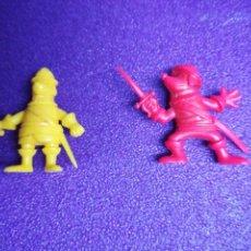Figuras de Goma y PVC: FIGURAS D'ARTAGNAN TIPO DUNKIN PHOSKITOS PVC LOTE. Lote 139202508