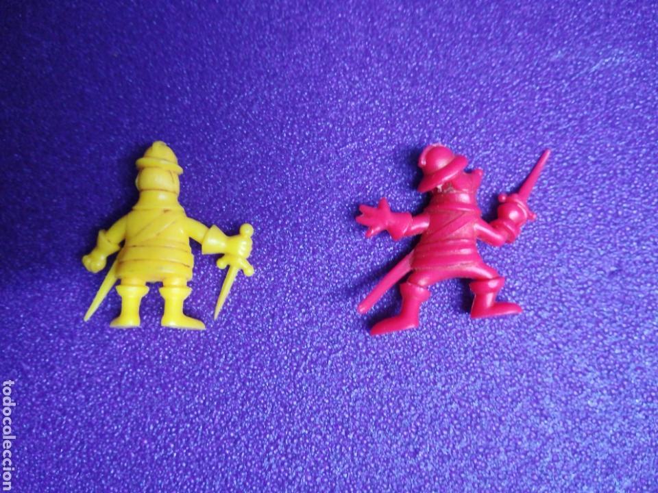 Figuras de Goma y PVC: Figuras D'Artagnan tipo Dunkin Phoskitos pvc lote - Foto 2 - 139202508