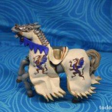 Figuras de Goma y PVC: FIGURA CABALLO MEDIEVAL DRAGON DE PAPO. Lote 139208598
