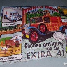 Figuras de Goma y PVC: MONTAPLEX COCHES ANTIGUOS EXTRA 41. Lote 139215854