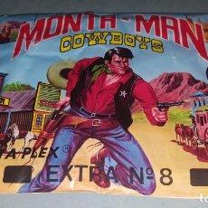 Figuras de Goma y PVC: MONTAPLEX COWBOYS. Lote 139216330