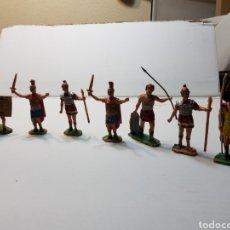 Figuras de Goma y PVC: ANTIGUO LOTE ROMANOS DE REAMSA -GOMARSA. Lote 139221250