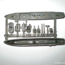 Figuras de Goma y PVC: MONTAPLEX - COLADA BARCO ROMMEL Nº 440 - COLOR GRIS. Lote 176816705
