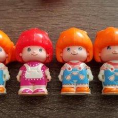 Figuras de Goma y PVC: LOTE DE PIN Y PON AÑOS 80 FAMOSA PINYPON. Lote 139418254
